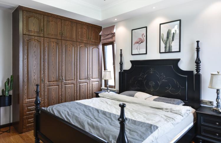 美式轻奢,将高级质感进行到底-卧室效果图及设计说明