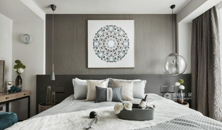 永远的现代主义-卧室效果图及设计说明
