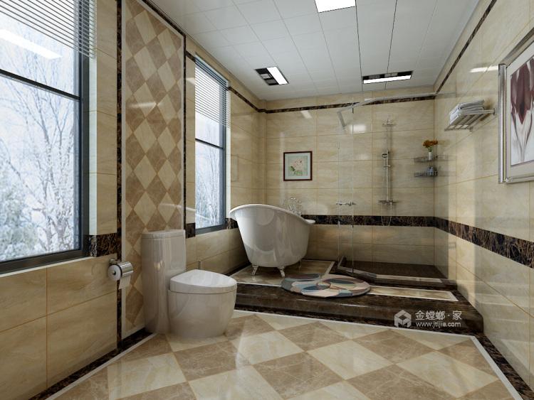 庄重大气的美式大宅-卫生间