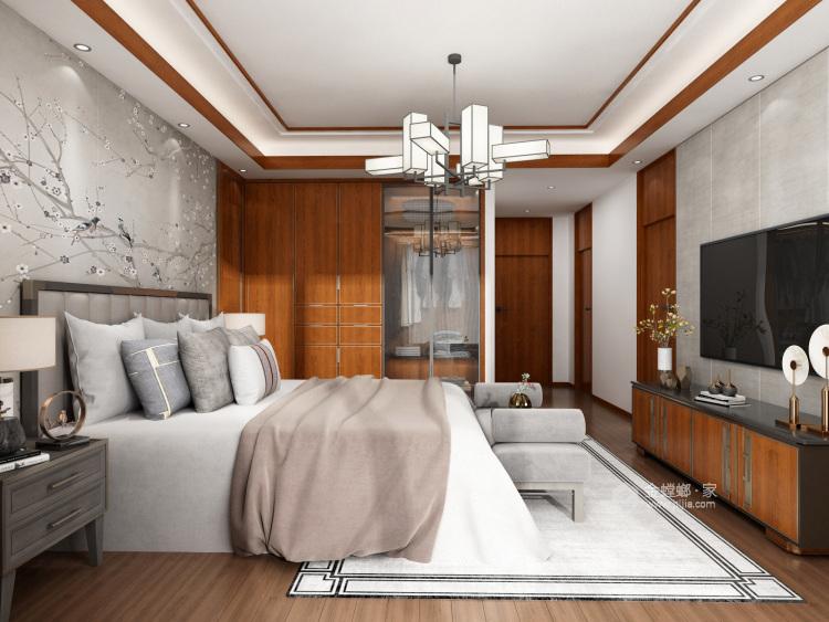 中式风格-卧室效果图及设计说明