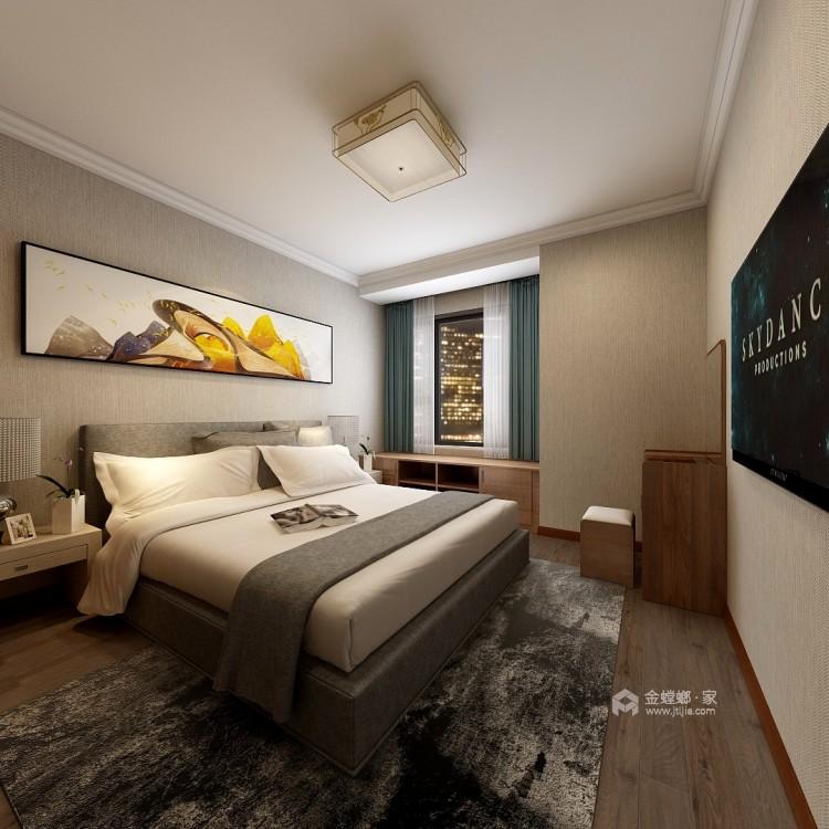 轻奢的风格,凸显业主的生活品味-卧室效果图及设计说明
