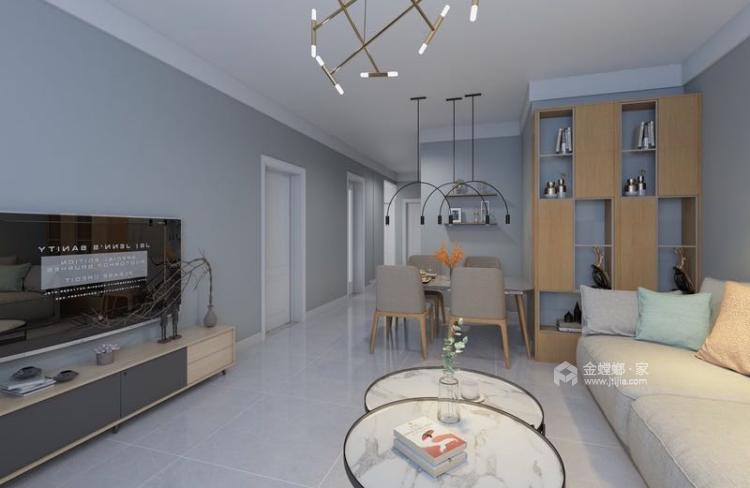 120㎡  三室  现代-餐厅效果图及设计说明