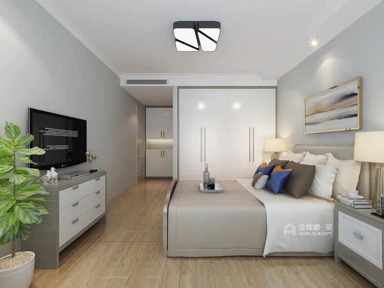195㎡  四室   现代-卧室效果图及设计说明