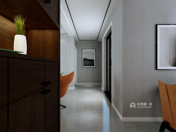 灰白基底的个型之家,营造现代休闲空间-客厅效果图及设计说明