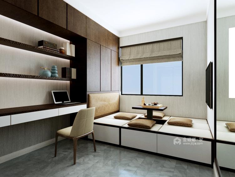 灰白基底的个型之家,营造现代休闲空间-卧室效果图及设计说明