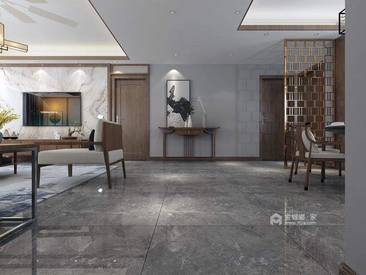 东尚名品-客厅效果图及设计说明