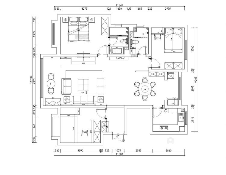 东尚名品-平面设计图及设计说明