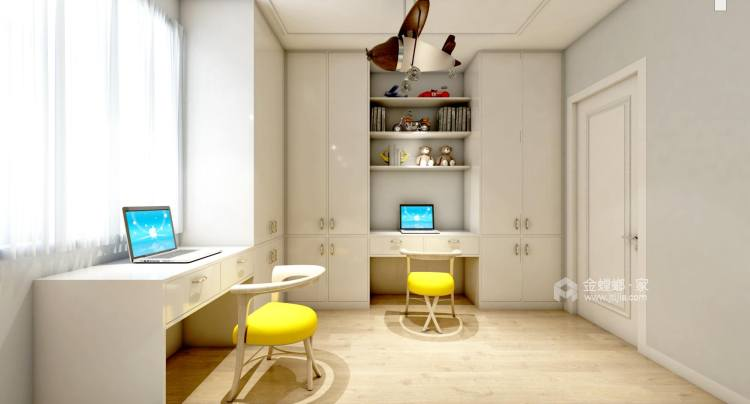 现代简约风-卧室效果图及设计说明