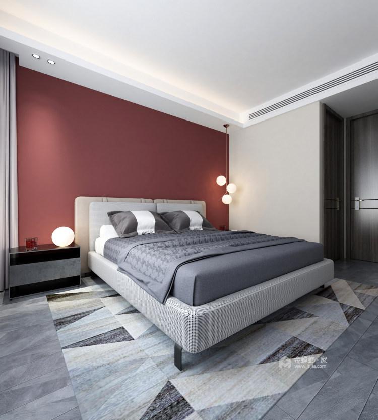 现代舒适的家-卧室效果图及设计说明