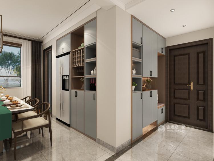 广饶梧桐印象-餐厅效果图及设计说明