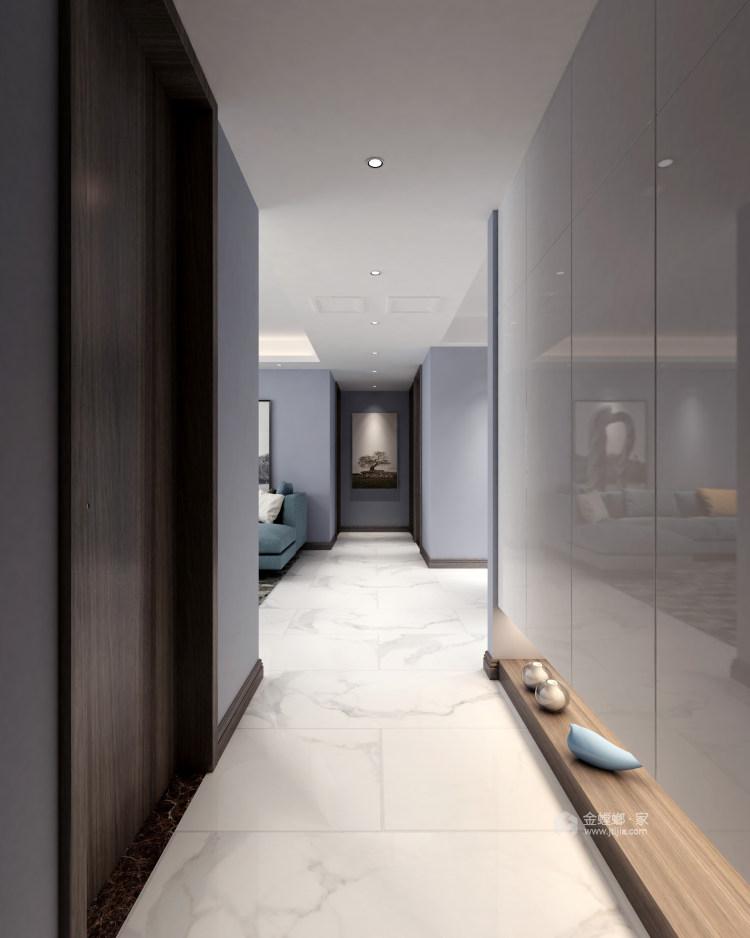 现代舒适的家-玄关