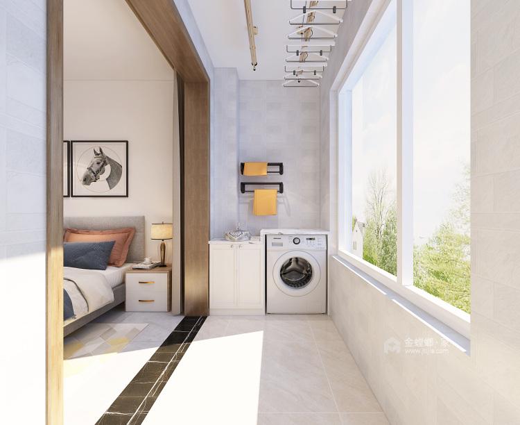 简约北欧风格-卧室效果图及设计说明