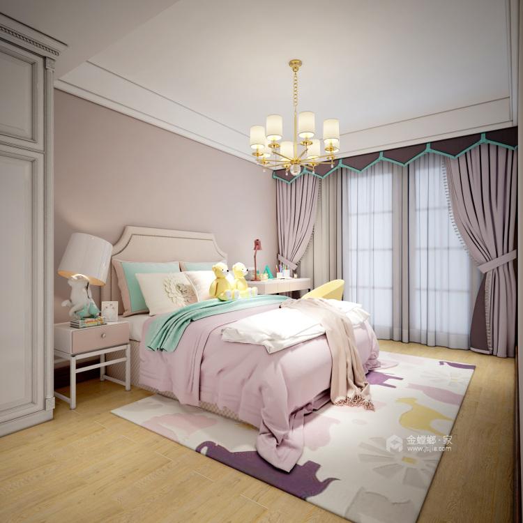 新中式大宅的典雅高贵-儿童房