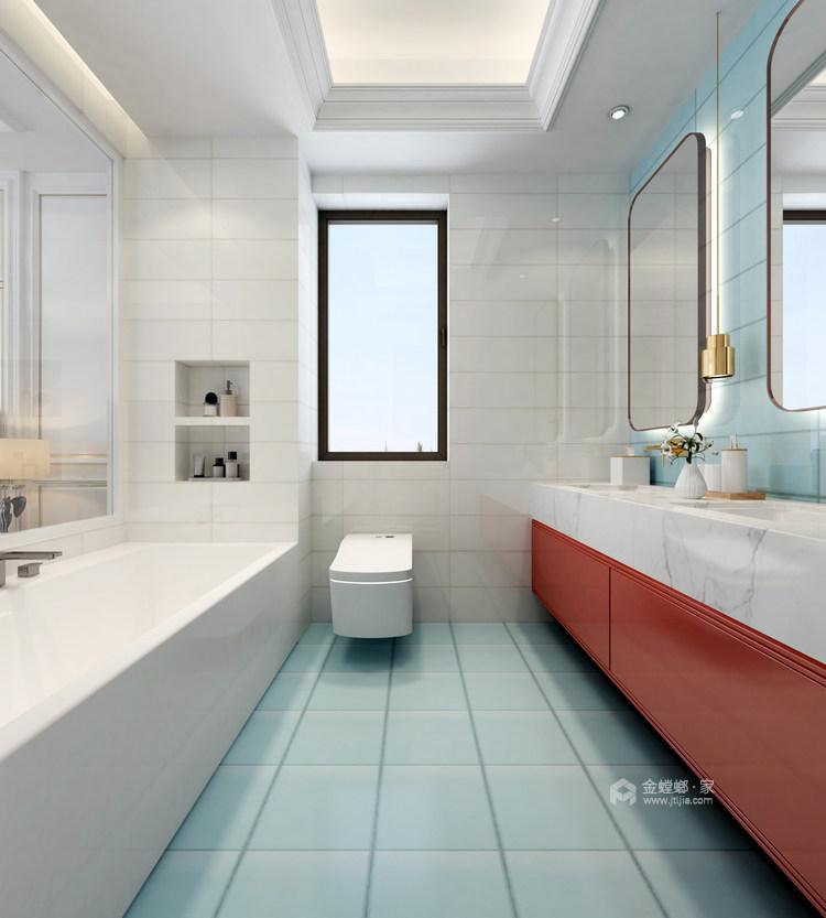 海边的温馨小家-卧室效果图及设计说明