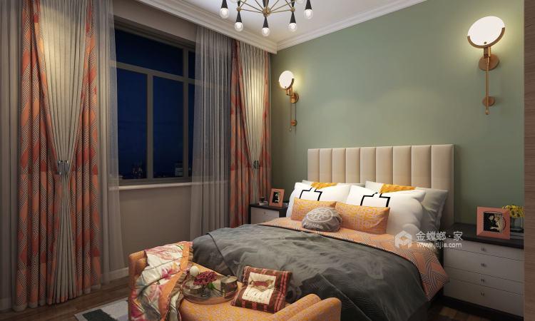 北欧风格-卧室效果图及设计说明