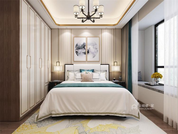 借景山水-卧室效果图及设计说明