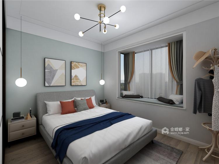 时光-卧室效果图及设计说明