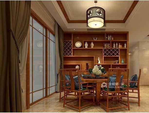 中式风格-餐厅效果图及设计说明