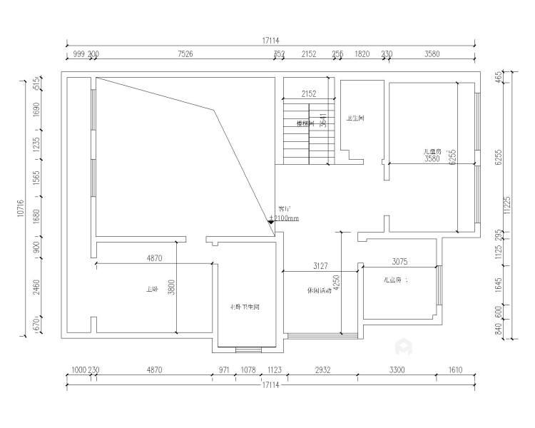胜宏靓都简欧设计-业主需求&原始结构图