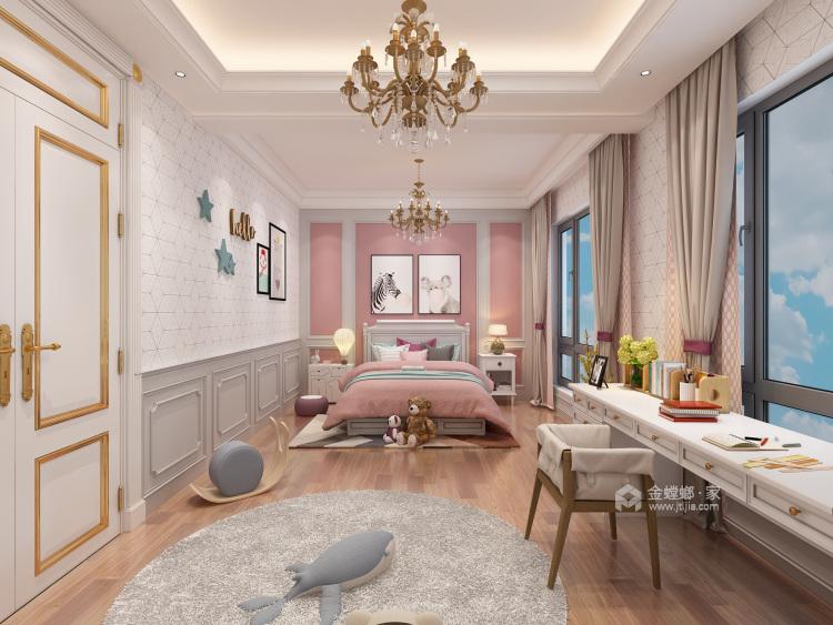 胜宏靓都简欧设计-卧室效果图及设计说明