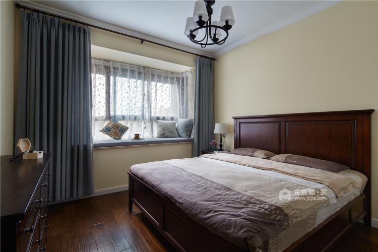 清新小美式让人心动-卧室效果图及设计说明
