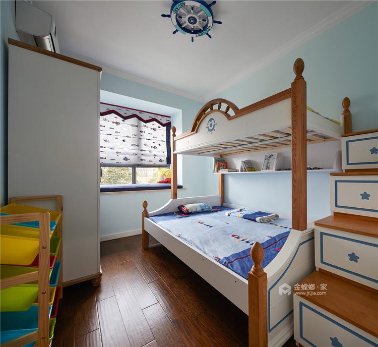 清新小美式让人心动-儿童房