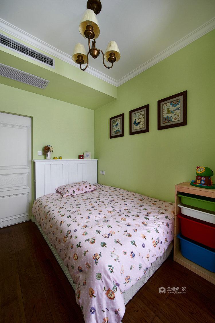 滨江国际张女士简美-卧室效果图及设计说明