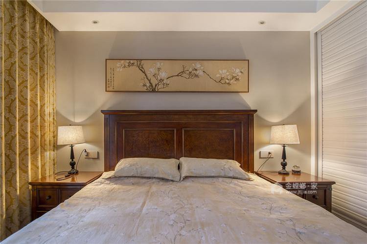没有理由错过的美式风格-卧室效果图及设计说明