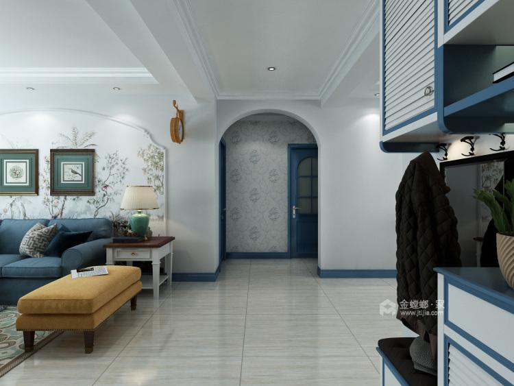 地中海——蓝宝石之恋-餐厅效果图及设计说明