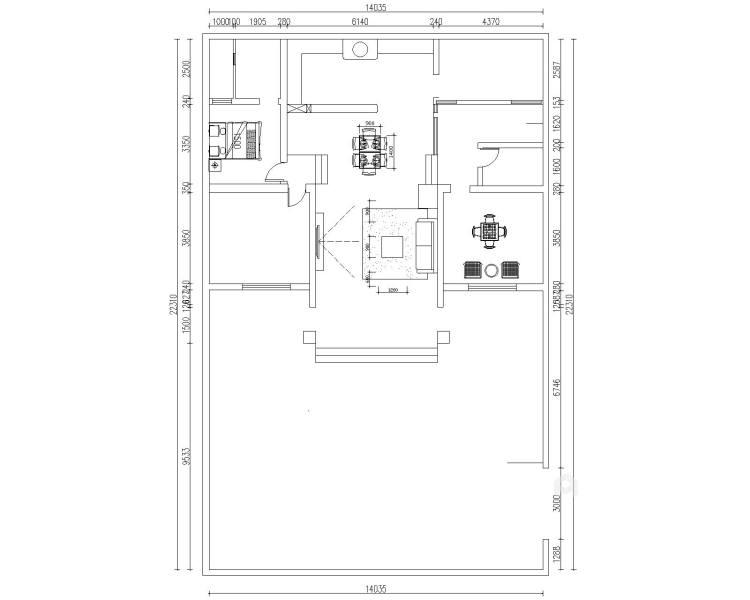 华瑞小区日式风-平面设计图及设计说明