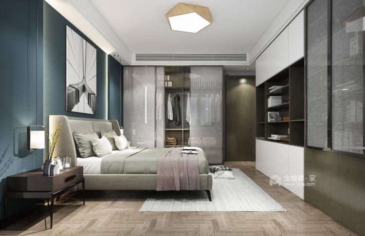 新中式4室156平-卧室效果图及设计说明