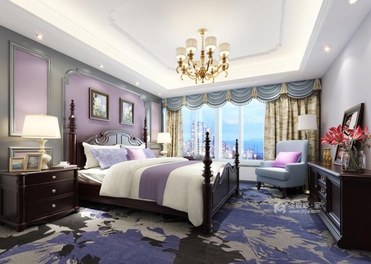 美式风格-卧室效果图及设计说明