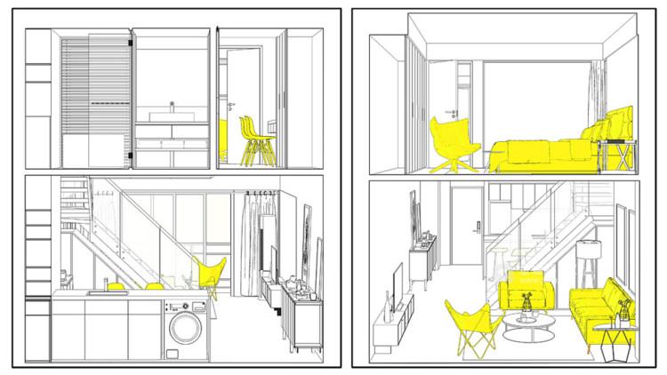 个性魅力128平现代别墅-平面设计图及设计说明