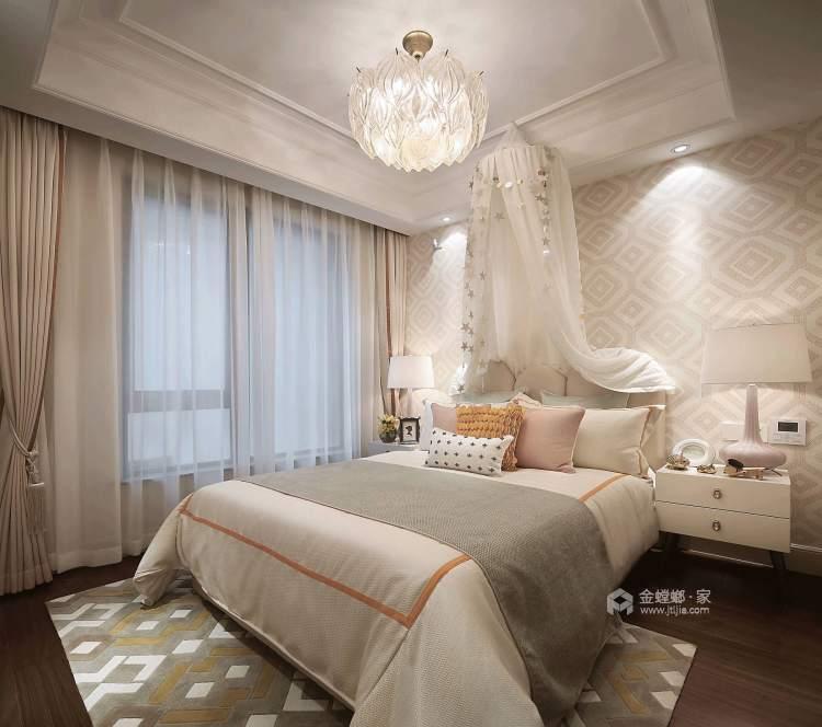 莫奈花园,天光水影-卧室效果图及设计说明