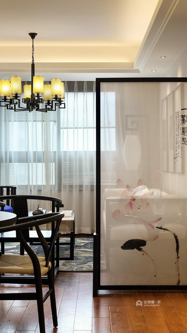 淡泊清朗,诗意人生-餐厅效果图及设计说明
