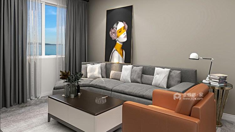 内观自己,外观众生,在潦草繁华中独善其身-客厅效果图及设计说明