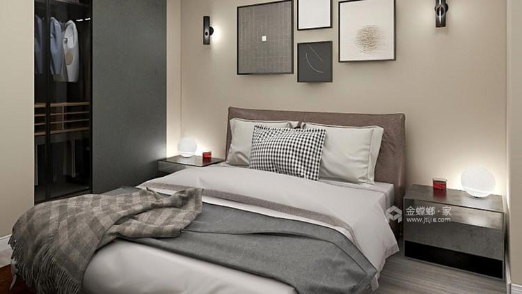 内观自己,外观众生,在潦草繁华中独善其身-卧室效果图及设计说明