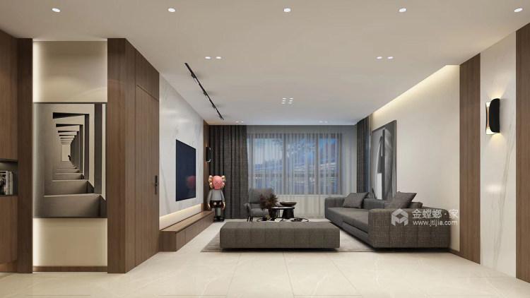 118²以简约诠释奢华-客厅效果图及设计说明