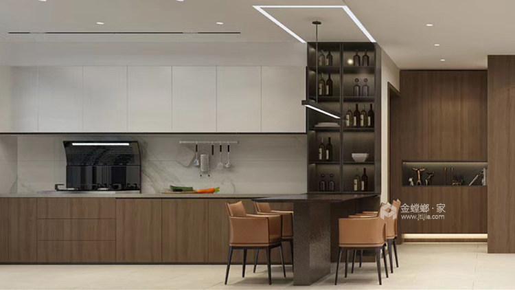 118²以简约诠释奢华-餐厅效果图及设计说明