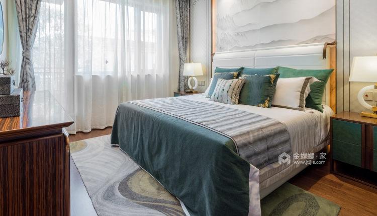 """最柔和的""""现代轻奢""""-卧室效果图及设计说明"""