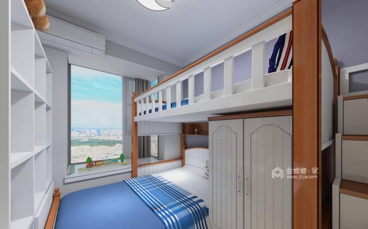 二孩的创想空间-卧室效果图及设计说明