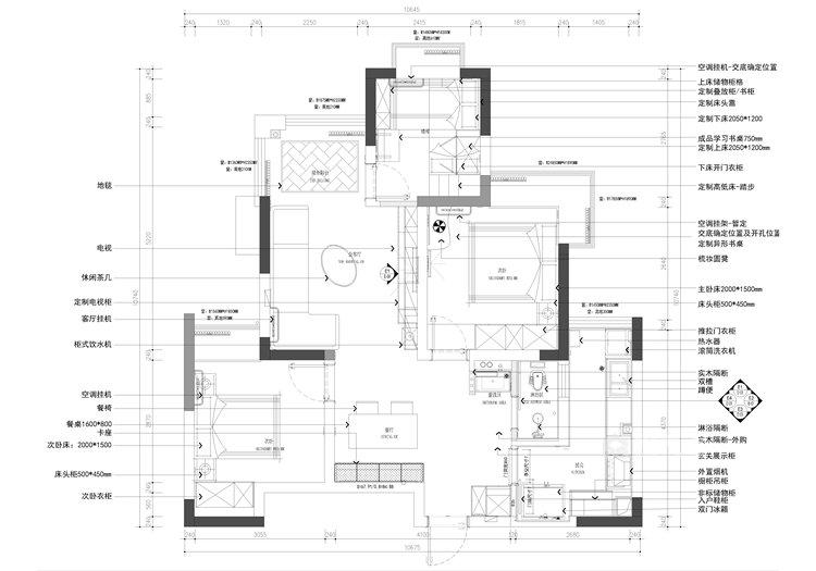 二孩的创想空间-平面设计图及设计说明