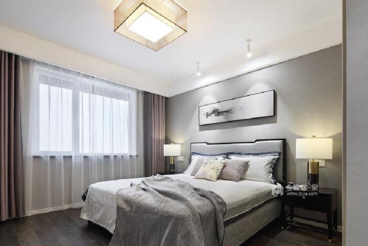 180平善水居新中式风格-极致东方-卧室效果图及设计说明