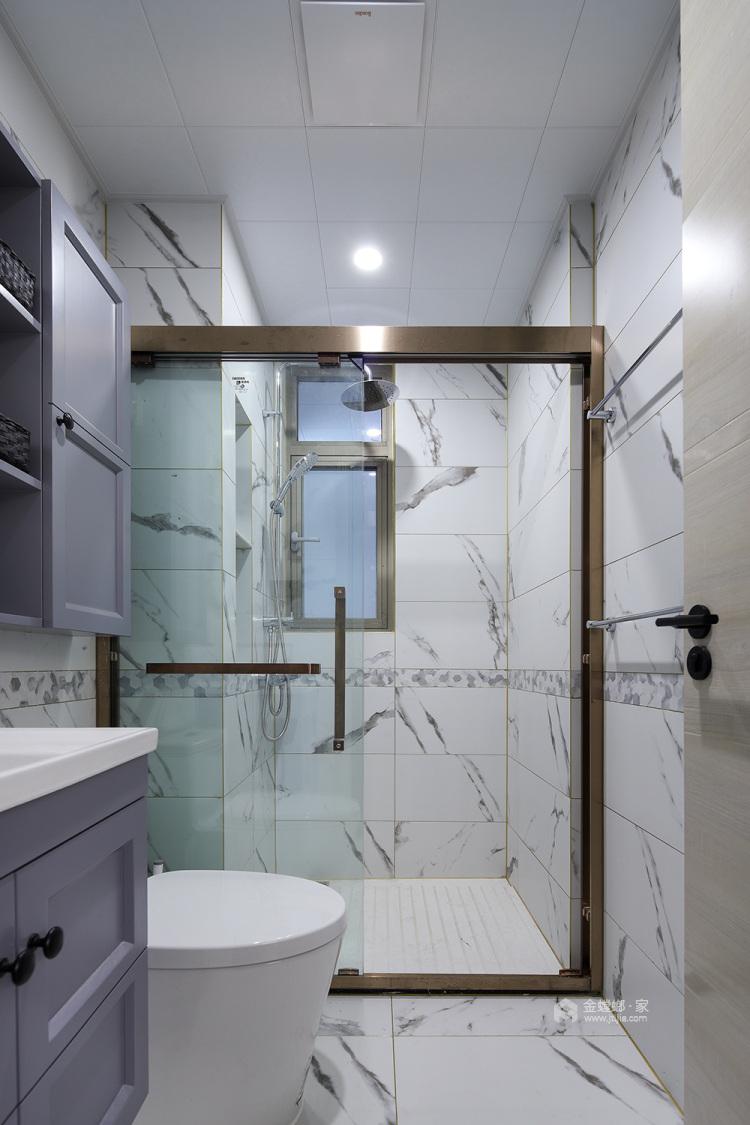 144平五坊园现代风格-黄浦江边,有你作伴,携手启程我们的旅途-卫生间