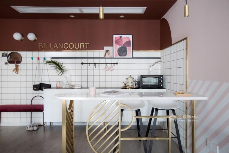 100平龍湖天璞現代風格-一種幸運是可以遇見-餐廳效果圖及設計說明