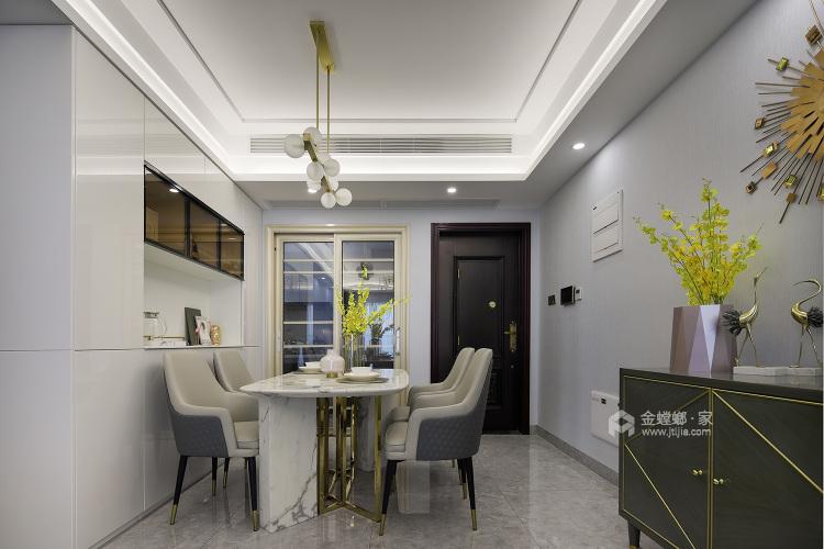 144平五坊园现代风格-黄浦江边,有你作伴,携手启程我们的旅途-餐厅效果图及设计说明
