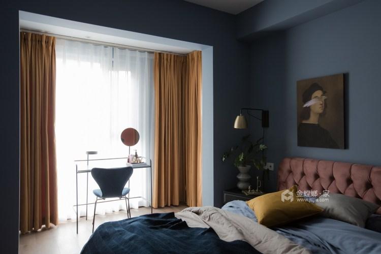 100平龍湖天璞現代風格-一種幸運是可以遇見-臥室效果圖及設計說明