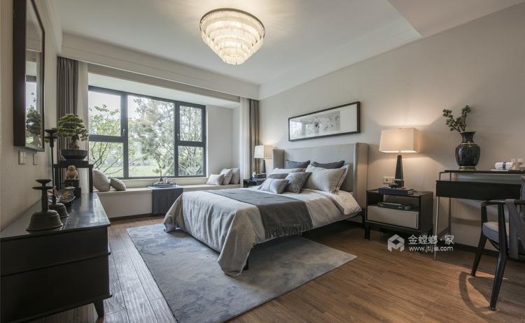 220平锦绣城新中式风格-超有温度的高品质生活!-卧室效果图及设计说明