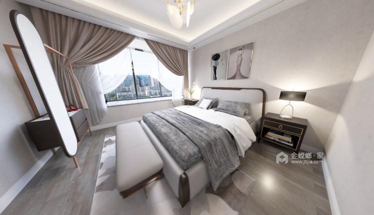 95平新城盛景现代风格-轻奢生活,你值得拥有-卧室效果图及设计说明