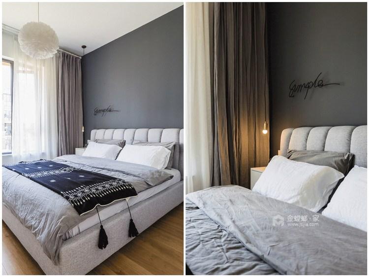 120平新城盛景现代风格-空间内存瞬间翻倍!-卧室效果图及设计说明